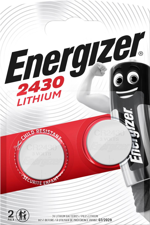 Energizer lítium gombelem CR2430 2 db