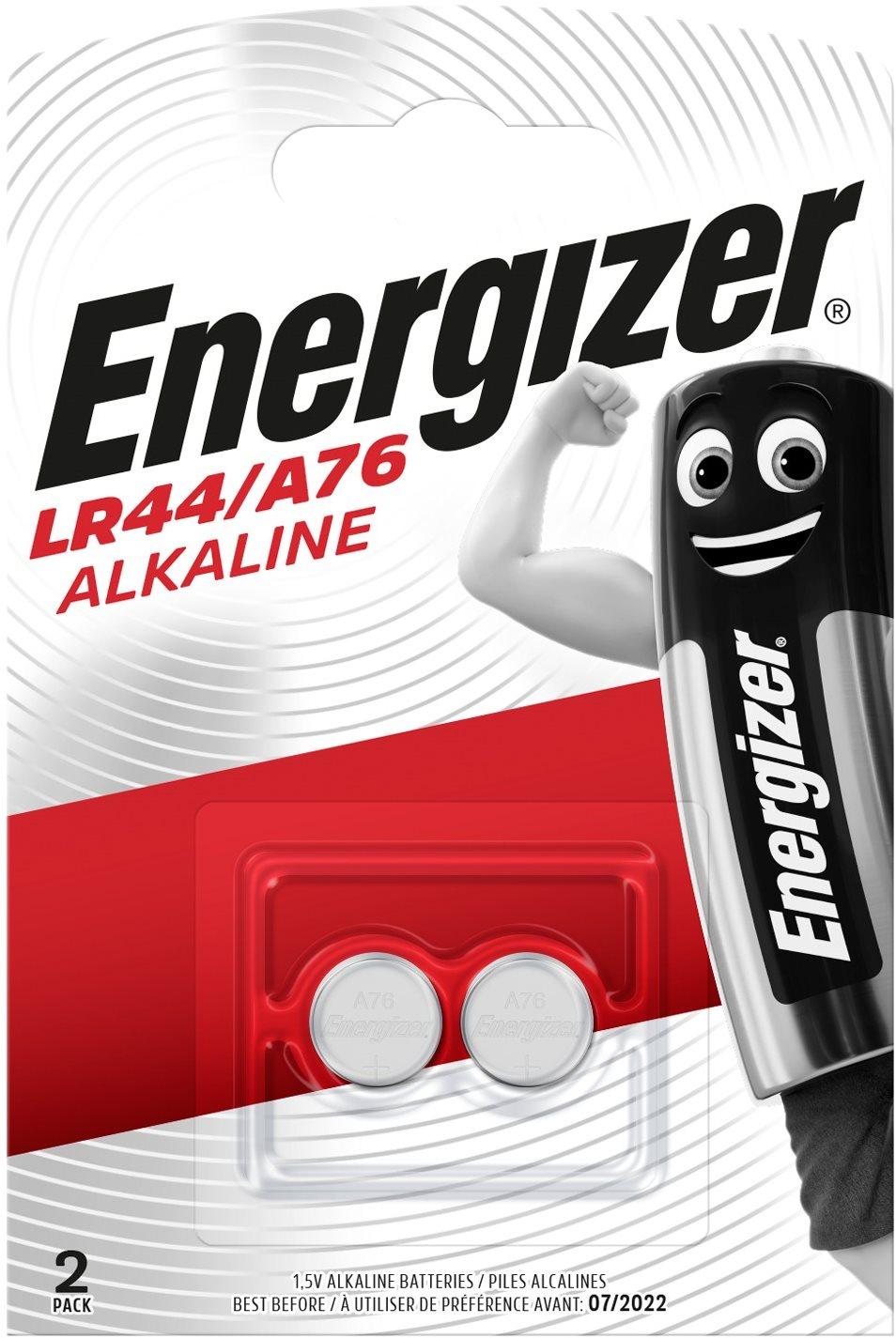 Energizer Speciális alkáli elem LR44/A76 2 db