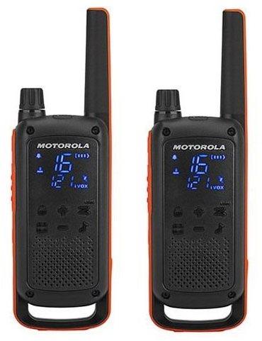 Motorola TLKR T82, narancs / fekete