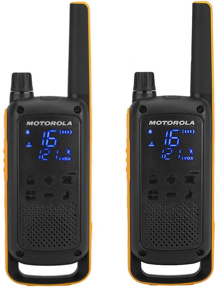 Motorola TLKR T82 Extreme, sárga / fekete