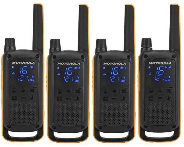 Motorola TLKR T82 Extreme, Quadpack, sárga / fekete