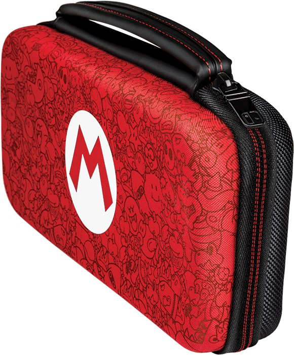 PDP Deluxe Travel Case - Mario Remix Edition - Nintendo Switch