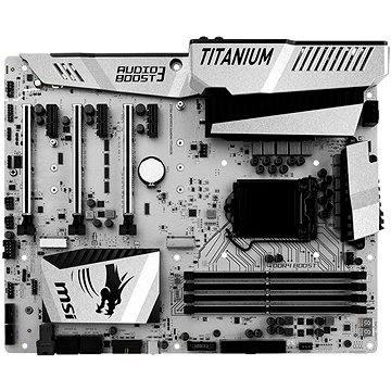 MSI Z170A MPOWER GAMING TITANIUM + ZDARMA Chladič na procesor SilentiumPC Fera 2 HE1224