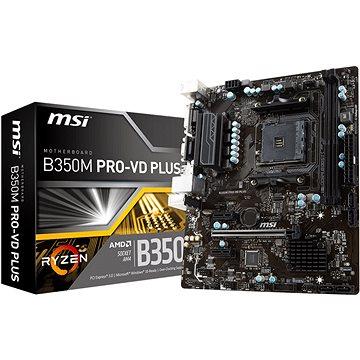 MSI B350M PRO-VD PLUS (B350M PRO-VD PLUS)