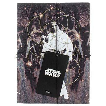 STAR WARS Darth Vader a Leia - Zápisník (2x) (5055964707903)