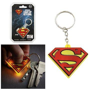 DC COMICS Superman - svítící klíčenka (5055964700638)