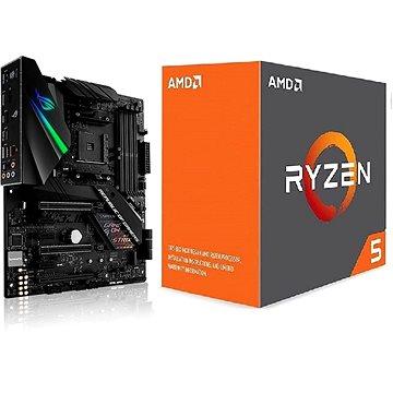 ASUS akční balíček MB ROG STRIX X470-F GAMING + CPU AMD RYZEN 5 1600X