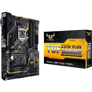 ASUS TUF Z370-PLUS GAMING (90MB0VF0-M0EAY0) + ZDARMA Antivirový software Bitdefender Internet Security 2017/2018 1PC 1 rok ESD