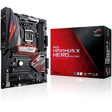 ASUS ROG MAXIMUS X HERO WI-FI AC (90MB0W20-M0EAY0) + ZDARMA Antivirový software Bitdefender Internet Security 2017/2018 1PC 1 rok ESD