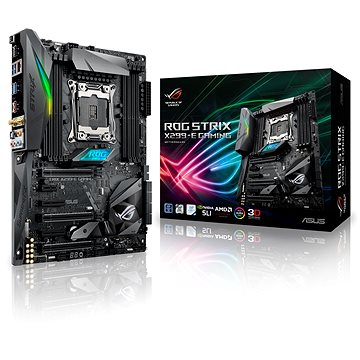ASUS ROG STRIX X299-E GAMING (90MB0U50-M0EAY0) + ZDARMA Antivirový software Bitdefender Internet Security 2017/2018 1PC 1 rok ESD