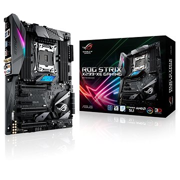 ASUS ROG STRIX X299-XE GAMING (90MB0VW0-M0EAY0) + ZDARMA Antivirový software Bitdefender Internet Security 2017/2018 1PC 1 rok ESD