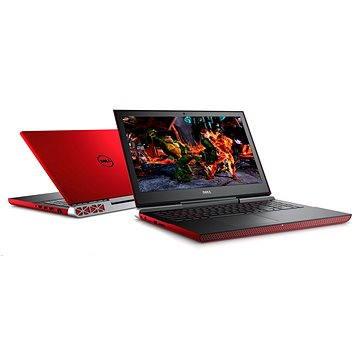 """Dell Inspiron 15 (7000) červený (N-7566-N2-712R) + ZDARMA Brašna na notebook Dicota Base 15 - 15.6"""" Digitální předplatné Týden - roční"""
