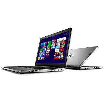 Dell Inspiron 17 (5000) stříbrný (N2-5758-N2-712S) + ZDARMA Poukaz Elektronický darčekový poukaz Alza.sk v hodnote 33 EUR, platnosť do 23/12/2016
