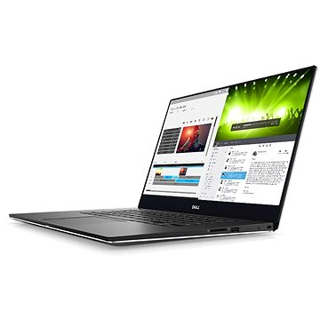 Dell XPS 15 Touch stříbrný (TN-9560-N2-512S) + ZDARMA Myš Microsoft Wireless Mobile Mouse 1850 Black