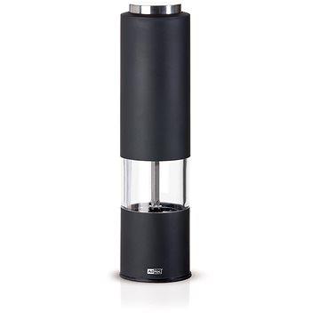AdHoc Elektrický mlýnek TROPICA - LED světlo, černý (EP22)