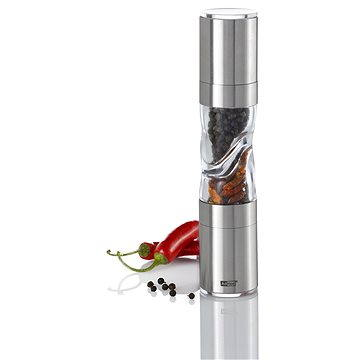 AdHoc Mlýnek DUOSPICE sůl/pepř + chilli střední (MP290)