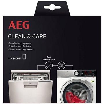 AEG Clean & Care odstraňovač vodního kamene a mastnoty A6WMDW12 (902979805)
