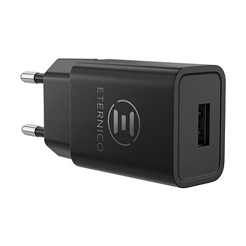 Eternico Wall Charger 1x USB 2.4A Black (AET-CHWC0050)
