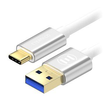 Eternico AluCore USB-C 3.2 Gen1, 2m stříbrný (AET-CBTC0072W)