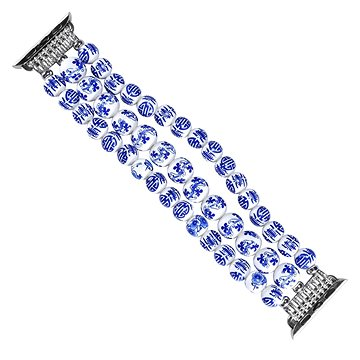 Eternico Apple Watch 42mm / 44mm Ceramic Bracelet Modrý (AET-AWCRM25BL-42)