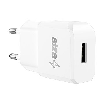 AlzaPower Smart Charger 2.1A White (APW-CC1100W)