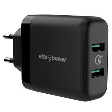AlzaPower Q200 Quick Charge 3.0 Black (APW-CCQ200B)