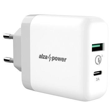 AlzaPower Q200C Quick Charge 3.0 White (APW-CCQ200CW)