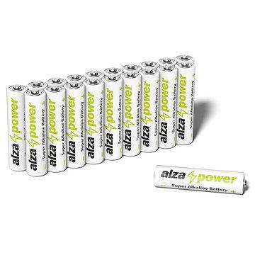 AlzaPower Super Alkaline LR03 (AAA) 20ks v eko-boxu (APW-BAAA20BX)