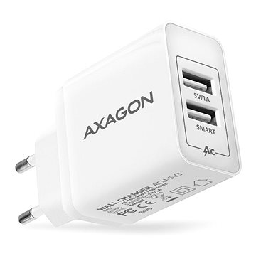 AXAGON ACU-5V3 SMART Dual USB (ACU-5V3)