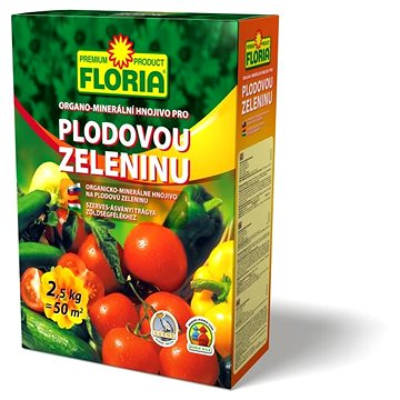FLORIA pro plodovou zeleninu 2,5 kg (008403)
