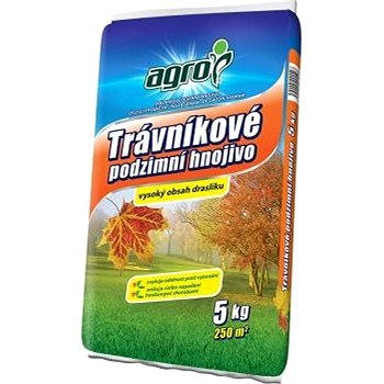 AGRO Podzimní trávníkové hnojivo 5 kg (000343)