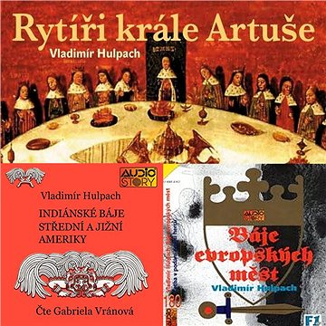 Balíček audioknih Vladimíra Hulpacha za výhodnou cenu