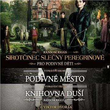 Balíček audioknih Sirotčinec slečny Peregrinové za výhodnou cenu