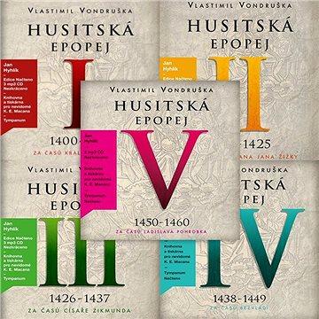 Balíček audioknih Husitská epopej I - V za výhodnou cenu