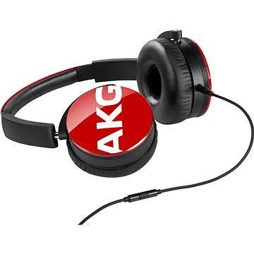 AKG Y 50 červená (AKG Y 50 Red)