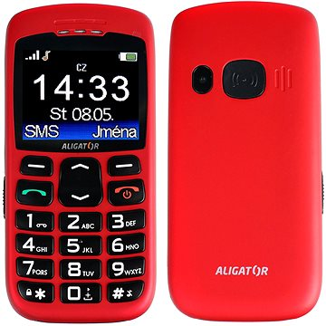 Aligator A670 Senior Red (A670R)
