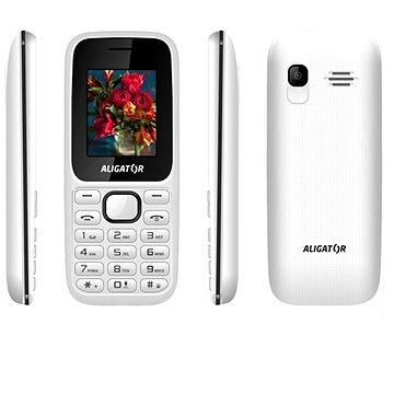Aligator D200 Dual SIM bílo-černý (AD200WB)
