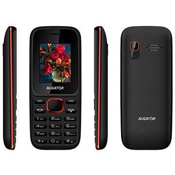 Aligator D200 Dual SIM černo-červený (AD200BR)