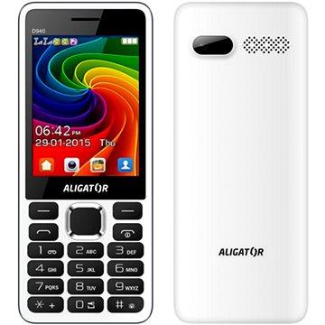 Aligator D940 bílý (AD940WG)