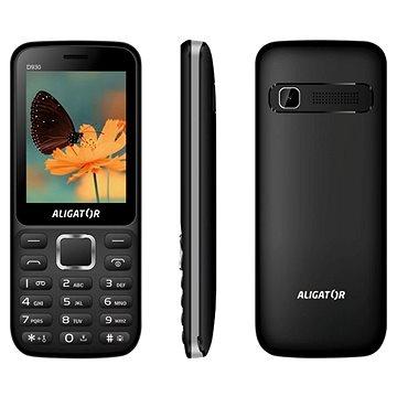 Aligator D930 Dual SIM černá/stříbrná (AD930BS)