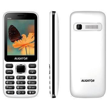Aligator D930 Dual SIM bílá/černá (AD930WB)