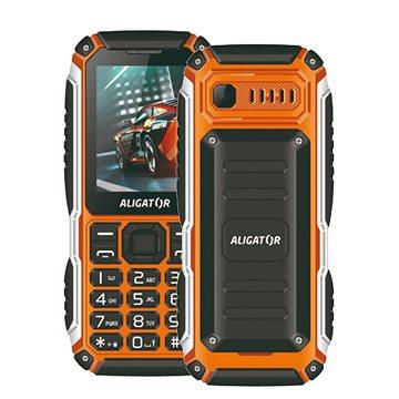 Aligator R30 eXtremo černá/oranžová (AR30BO)