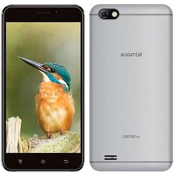 Aligator S5070 Duo 16GB stříbrný (AS5070SR)