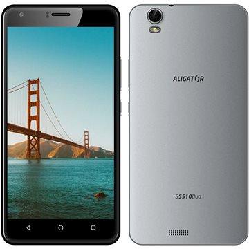 Aligator S5510 Duo šedý (AS5510GY) + ZDARMA Bezpečnostní software Kaspersky Internet Security pro Android pro 1 mobil nebo tablet na 6 měsíců (elektronická licence) Digitální předplatné Interview - SK - Roční od ALZY