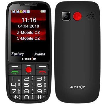 ALIGATOR A890 Senior černá (A890BK)