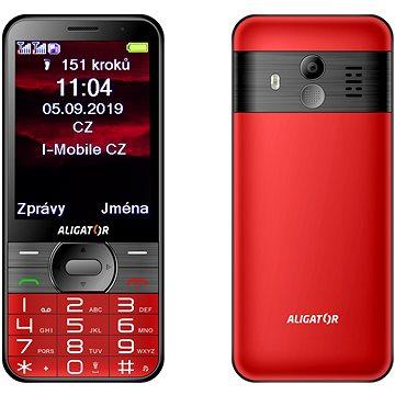 ALIGATOR A900 Senior červený (A900R)