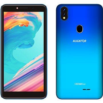 Aligator S5540 Duo 32GB gradientní modrá (AS5540BE)