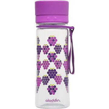 ALADDIN Dětská láhev na vodu AVEO 350ml fialová s potiskem (10-01101-068)