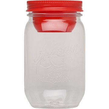 ALADDIN Dóza na potraviny Mason 1000ml červená (10-01828-002)