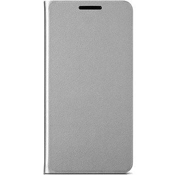 ALCATEL A5 Flip Case Silver (G5085-3SALAFG)